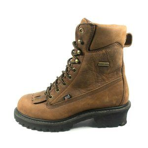 Justin Gore-tex Waterproof Safety Toe Logger Boots